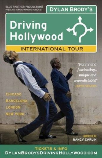 Dylan Brody's Driving Hollywood Poster
