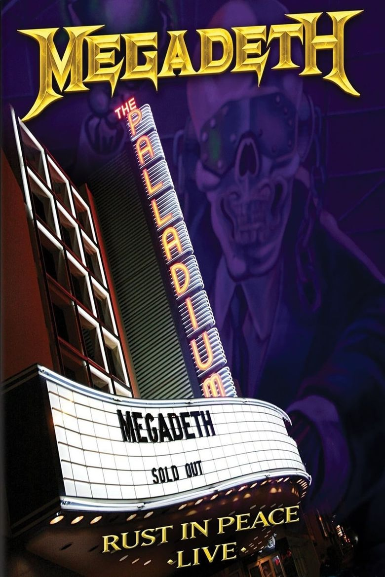 Megadeth: Rust in Peace Live Poster
