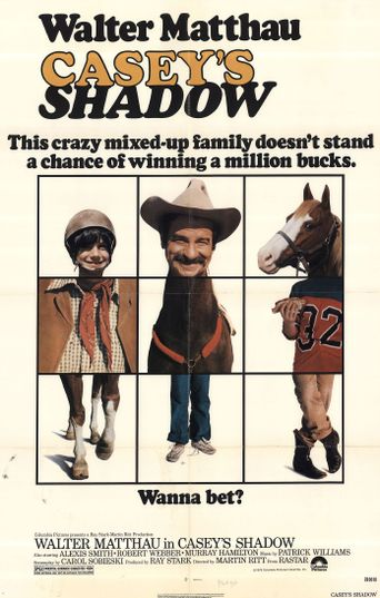 Casey's Shadow Poster
