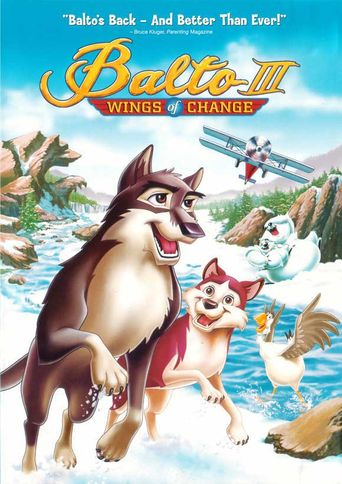 Balto III: Wings of Change Poster