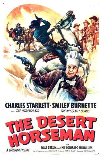 The Desert Horseman Poster