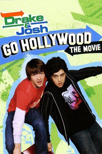 Drake & Josh Go Hollywood Poster
