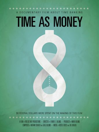 Time As Money Poster