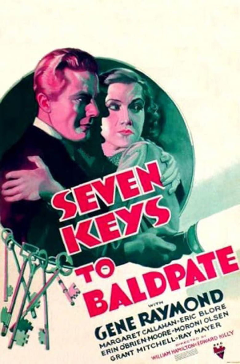 Seven Keys to Baldpate Poster