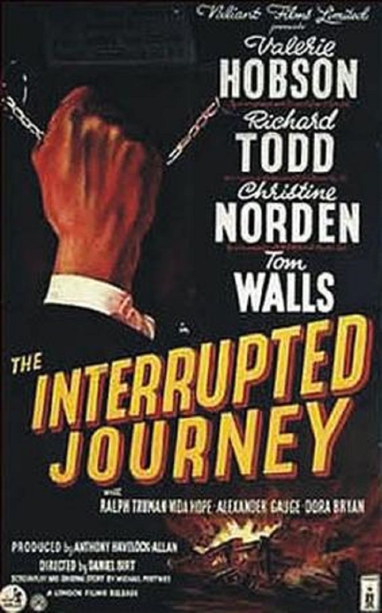 The Interrupted Journey Poster
