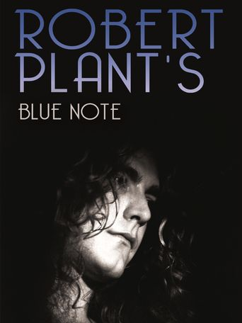 Robert Plant's Blue Note Poster
