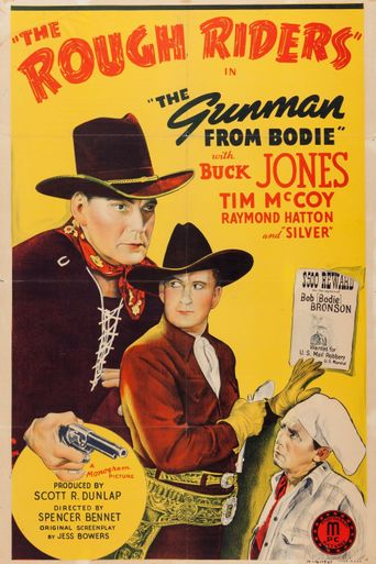 The Gunman From Bodie Poster