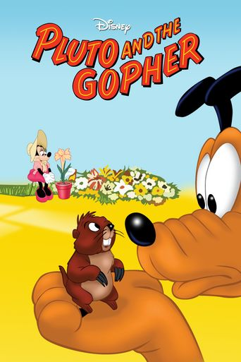 Pluto and the Gopher Poster