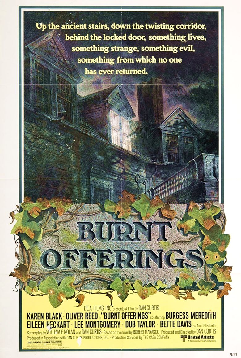Burnt Offerings Poster