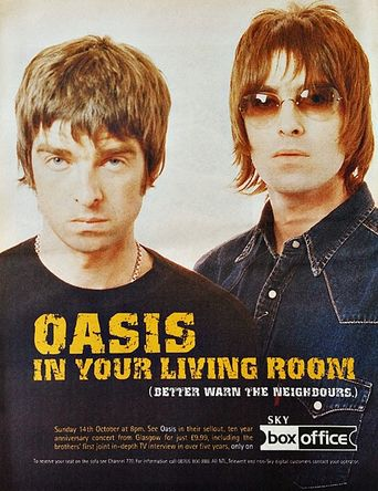 Oasis: 10 Years of Noise & Confusion Poster