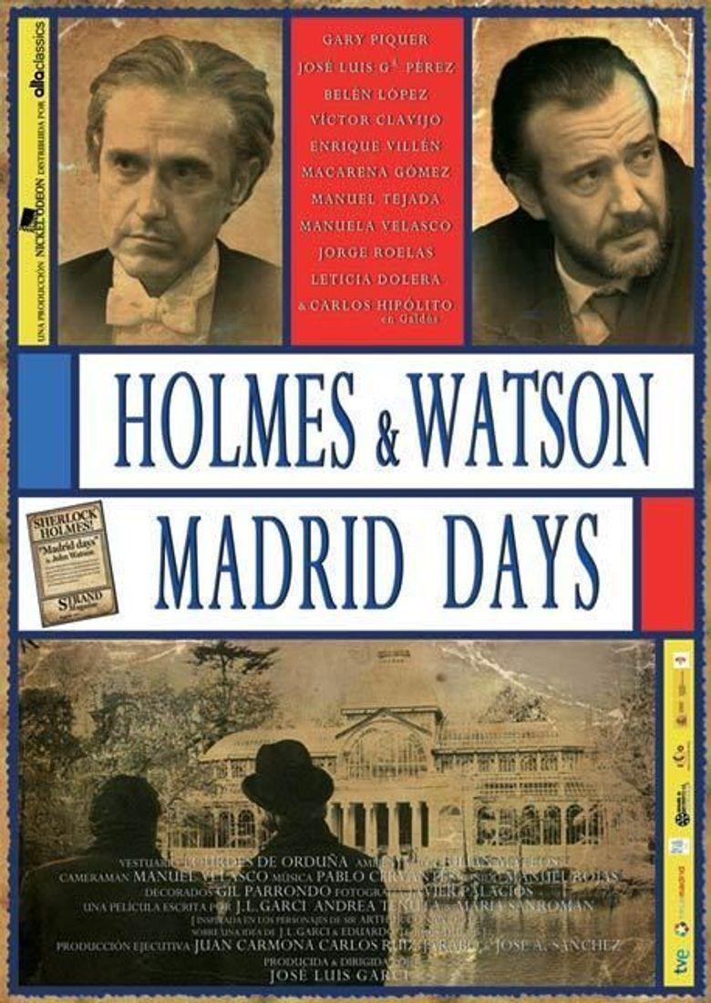 Holmes & Watson: Madrid Days Poster