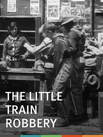The Little Train Robbery Poster