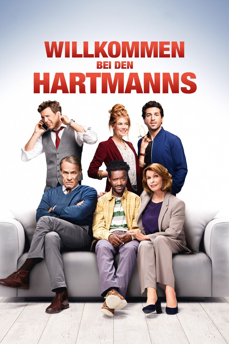 Welcome to the Hartmanns Poster