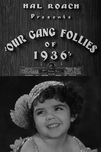 Our Gang Follies of 1936 Poster