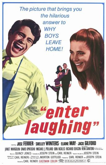 Enter Laughing Poster