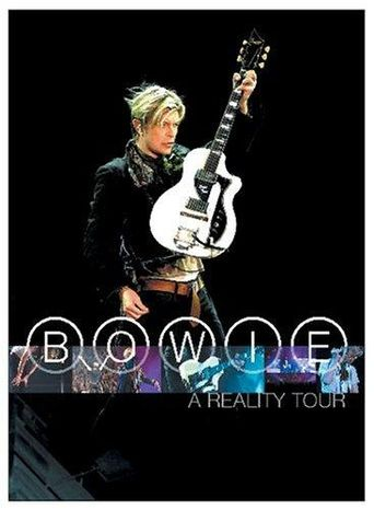 David Bowie: A Reality Tour Poster