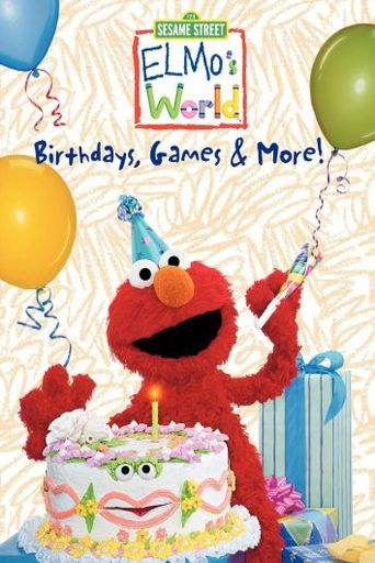 Sesame Street: Elmo's World: Birthdays, Games & More! Poster