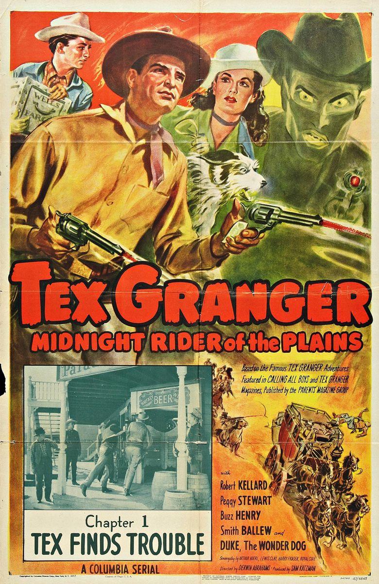 Tex Granger: Midnight Rider of the Plains Poster