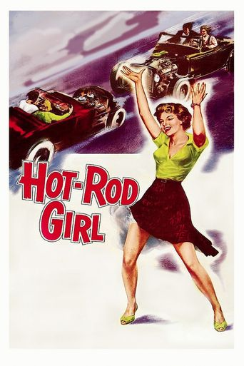 Hot Rod Girl Poster