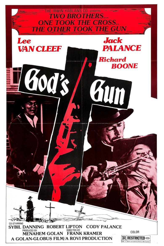 God's Gun Poster