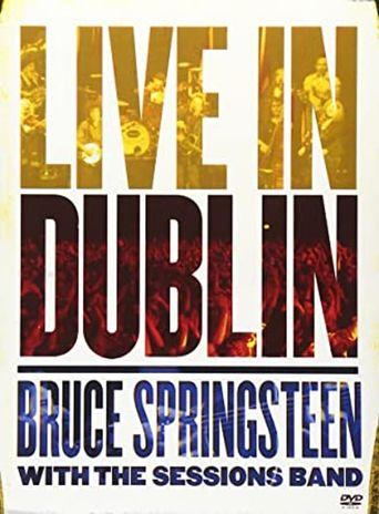 Bruce Springsteen - Live in Dublin Poster