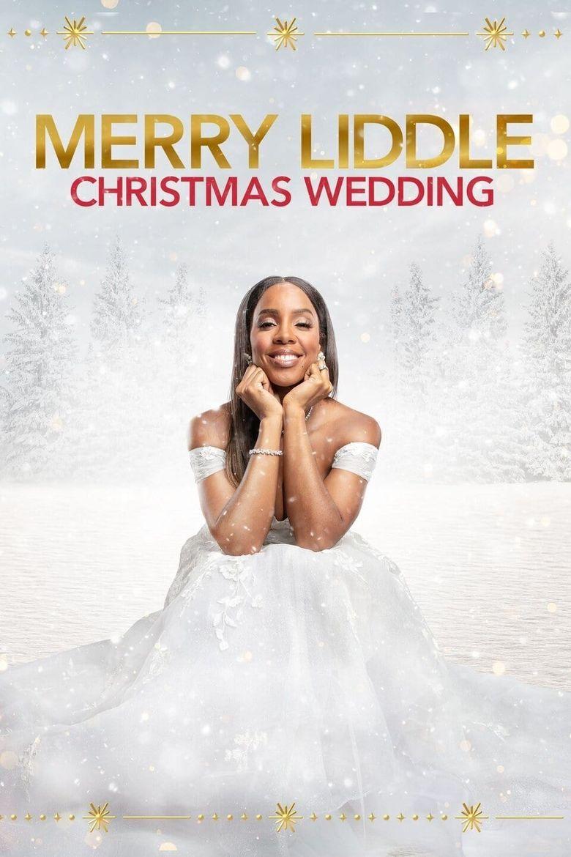 Merry Liddle Christmas Wedding Poster