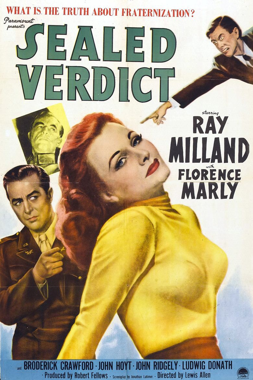 Sealed Verdict Poster