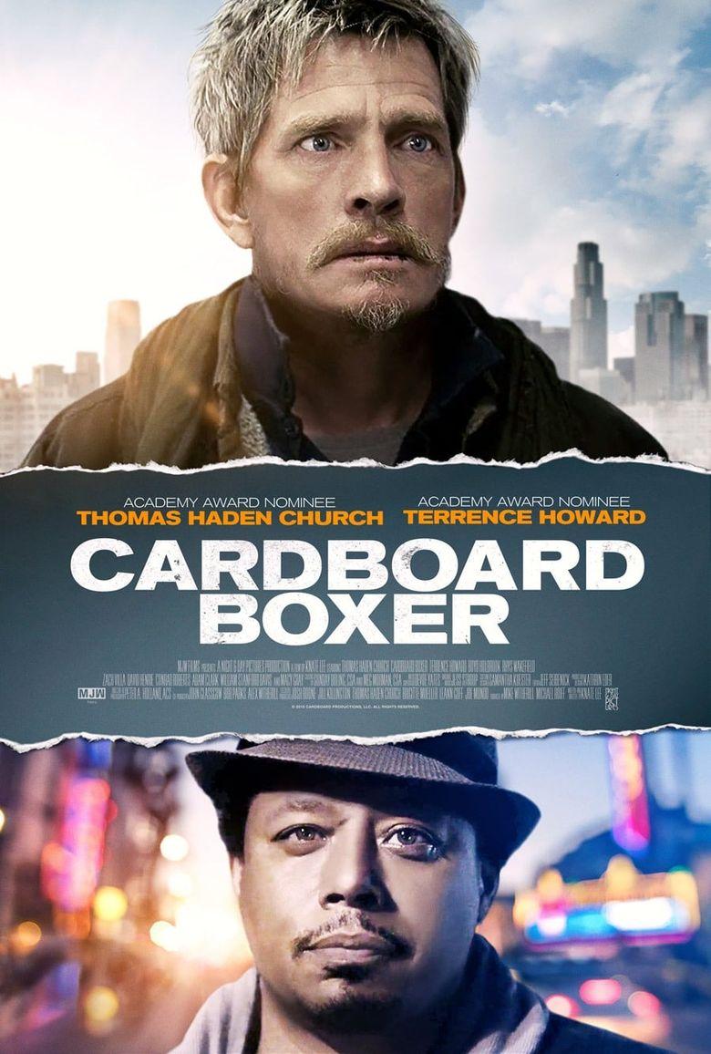 Cardboard Boxer Poster