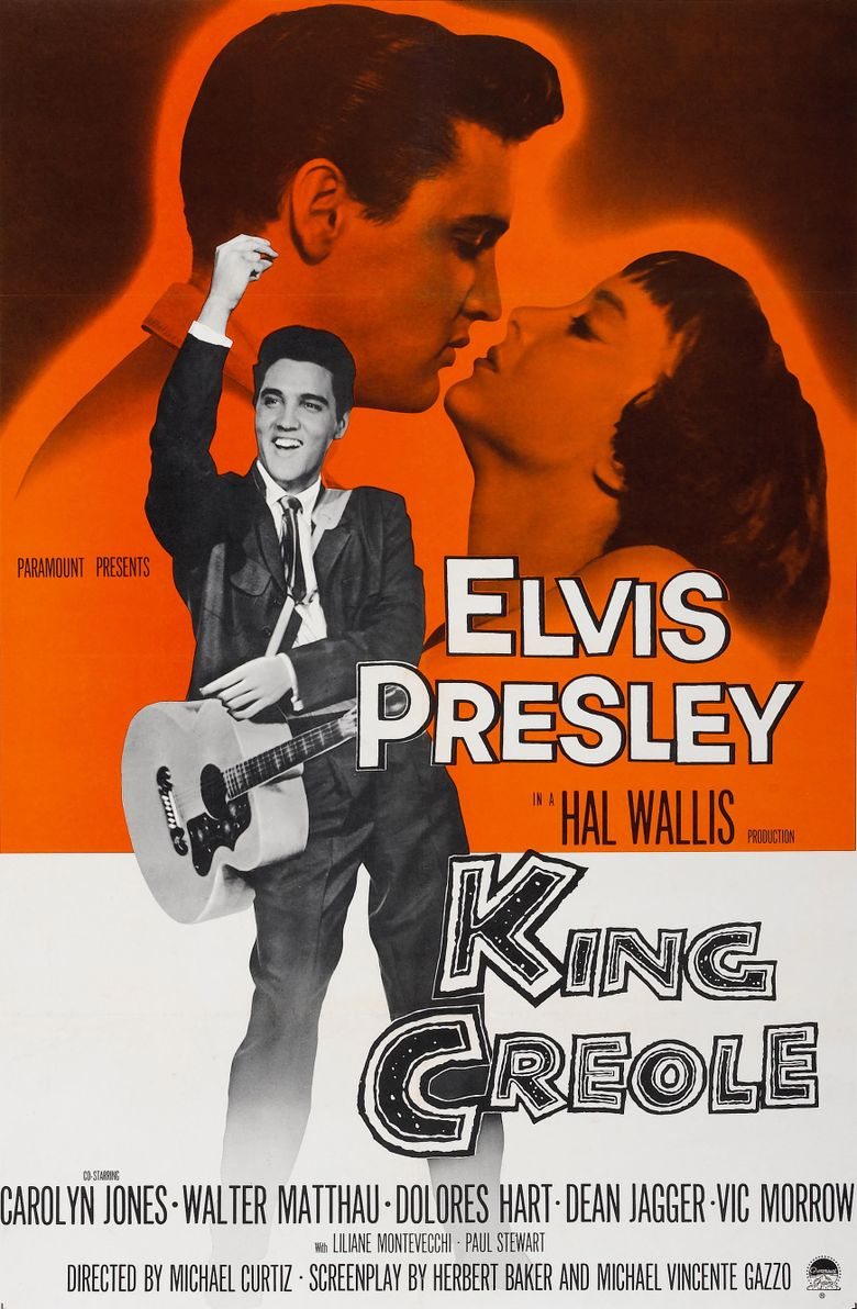 King Creole Poster