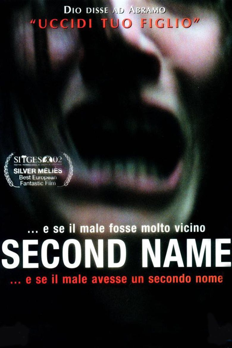 Second Name Poster
