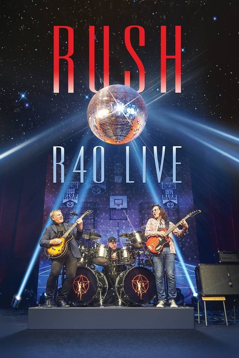 Rush: R40 Live Poster