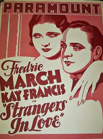 Strangers in Love Poster