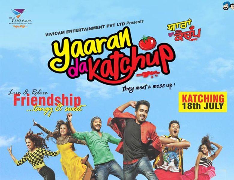 Yaaran Da Katchup Poster