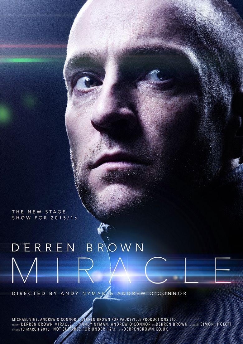 Derren Brown: Miracle Poster