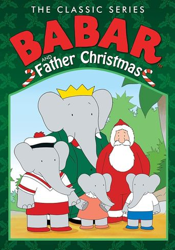 Babar and Father Christmas Poster