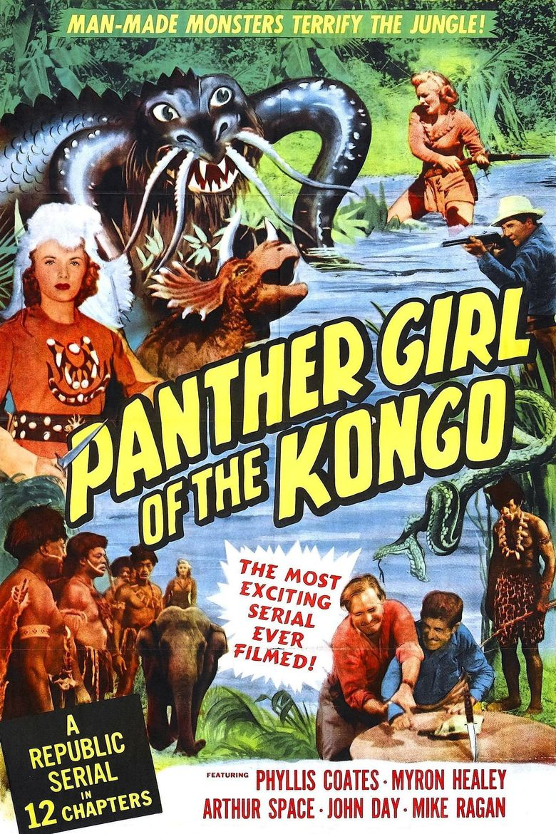 Panther Girl of the Kongo Poster