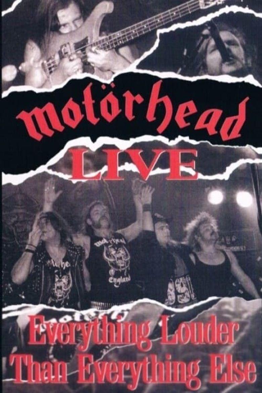 Motörhead: Everything Louder Than Everyone Else Poster
