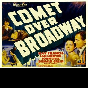 Comet Over Broadway Poster