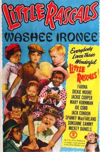 Washee Ironee Poster