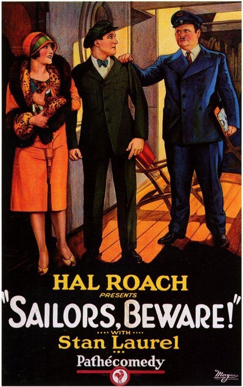 Sailors, Beware! Poster