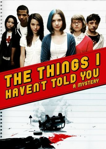 The Things I Haven't Told You Poster