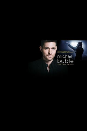 Michael Buble Sings and Swings Poster