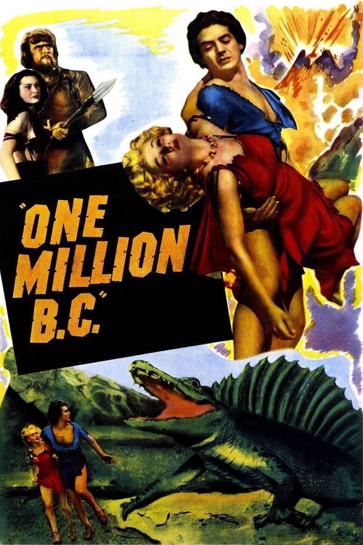 One Million B.C. Poster
