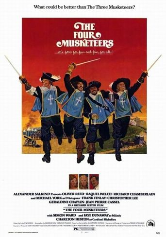 The Four Musketeers Poster