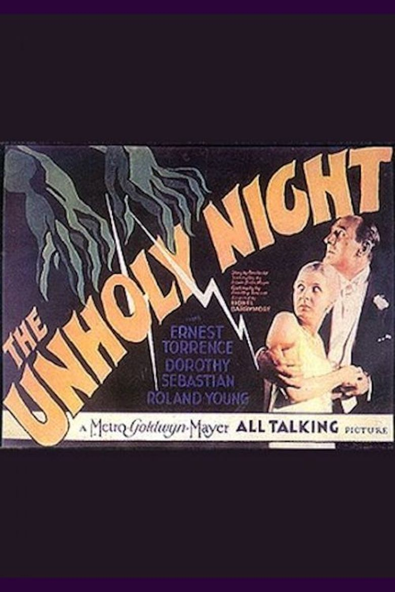 The Unholy Night Poster