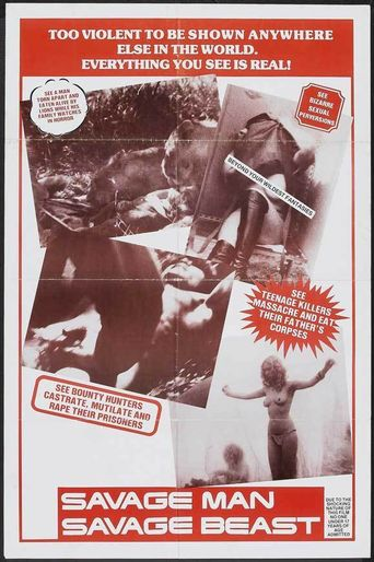 Savage Man Savage Beast Poster