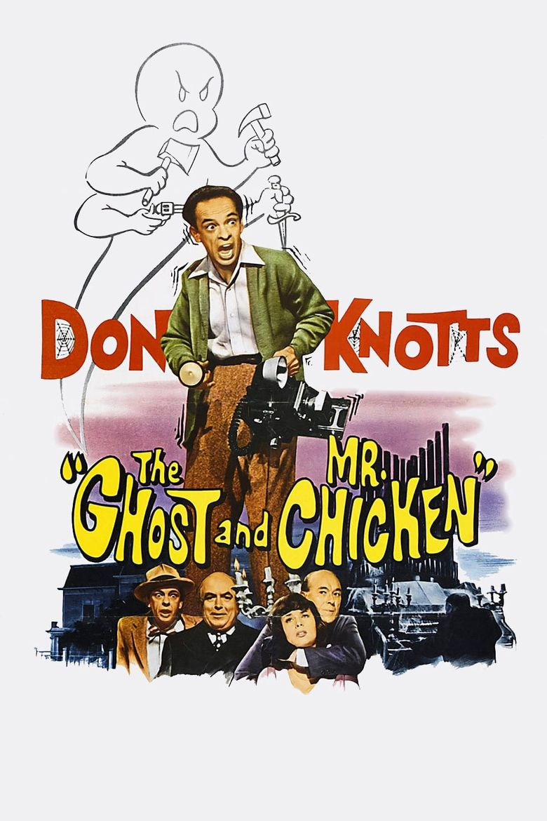 The Ghost & Mr. Chicken Poster