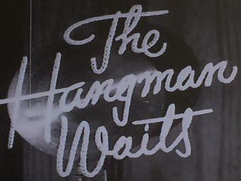 The Hangman Waits Poster
