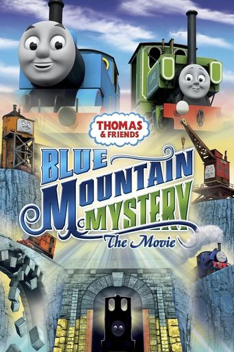 Thomas & Friends: Blue Mountain Mystery - The Movie Poster