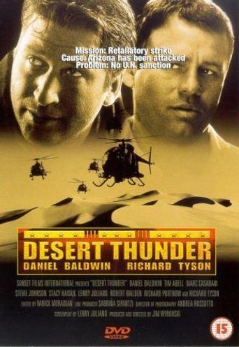 Desert Thunder Poster